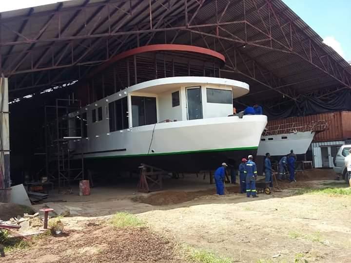 Kariba Dream houseboat under construction