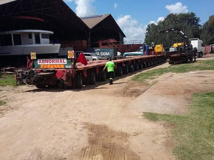 bnormal load Kariba Dream houseboat