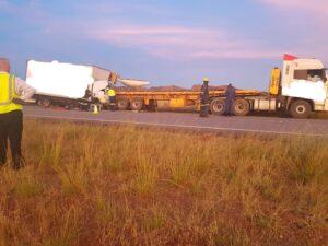 Trucker killed in two truck crash on N1 near Pienaar's River