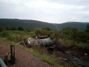 Two killed in N11 truck rollover crash near Middleburg