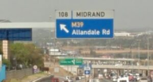 Allandale road in Midrand to be closed for 3 months