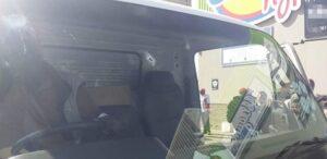 Pics: Gunmen fire multiple shots onto truck in Brackenfell attempted hijacking