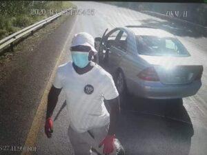 Robbers in 'Covid-19 gear' hijack truck on lockdown day 1
