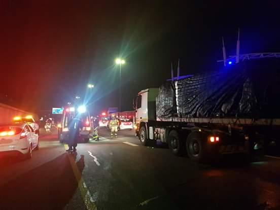 N1 truck crash