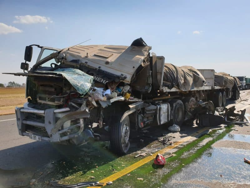n3 truck accident today