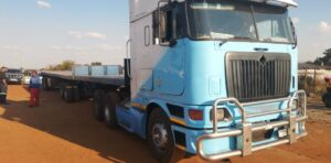 Gauteng police recover stolen truck and trailer used by load theft syndicate