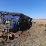 bethal truck and bakkie collision