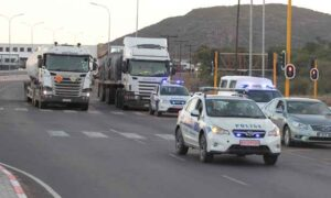 Coronavirus: Botswana accused of refusing truckers rest during escort