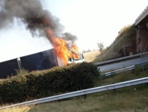 Watch: Two EPS truck drivers shot, trucks torched on N3