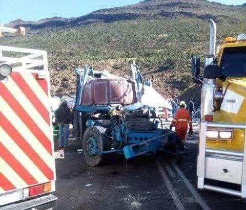 Brake failure blamed after truck overturns killing 3 people in EC