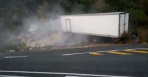 Watch: Another serious truck crash on scene of deadly KZN crash