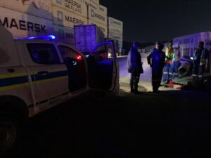 Truck driver shot two times by battery thieves in Durban