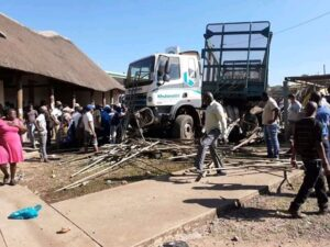 WATCH | CCTV footage of Jozini horror truck crash emerges
