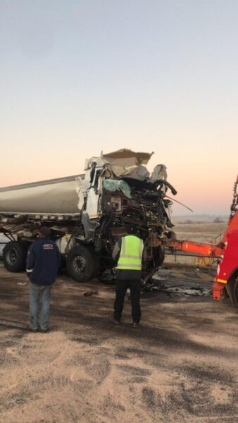 Watch: N3 closed after serious crash between 3 trucks and 3 cars in Wardens