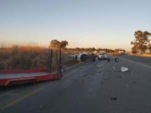 accident with detached trailer r59