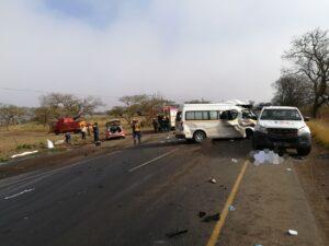 Update: Trucker in deadly tanker vs taxi crash flees scene of crash
