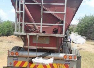 Hawks seize truck found with alleged stolen chrome worth R120 000-00 in Rustenburg