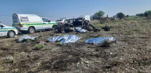Pics: Five killed in R510 truck and car head-on crash