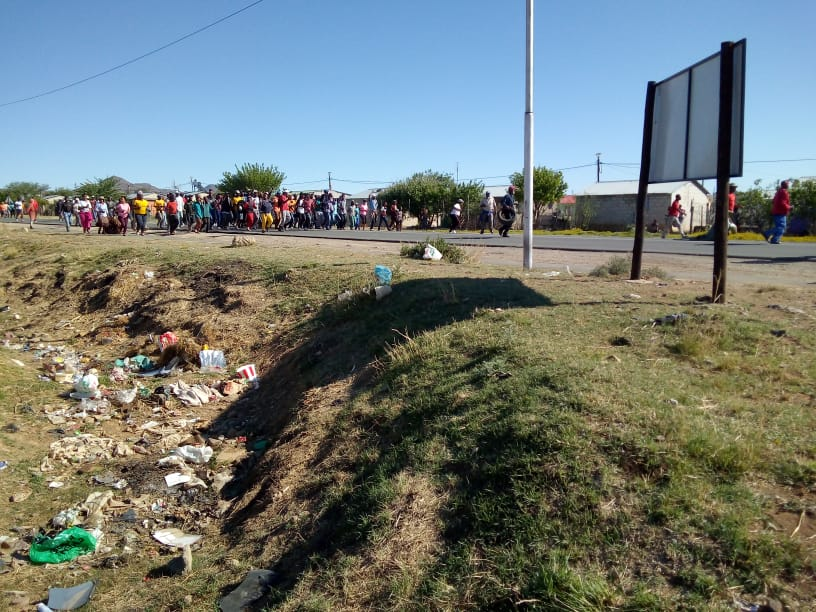 Two killed as truck ploughs into Middelburg protesters