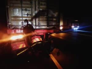 Truck driver dies in rear end crash at Montrose on N3