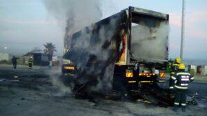Watch: Truck burnt, roads closed in violent Khayelitsha protests