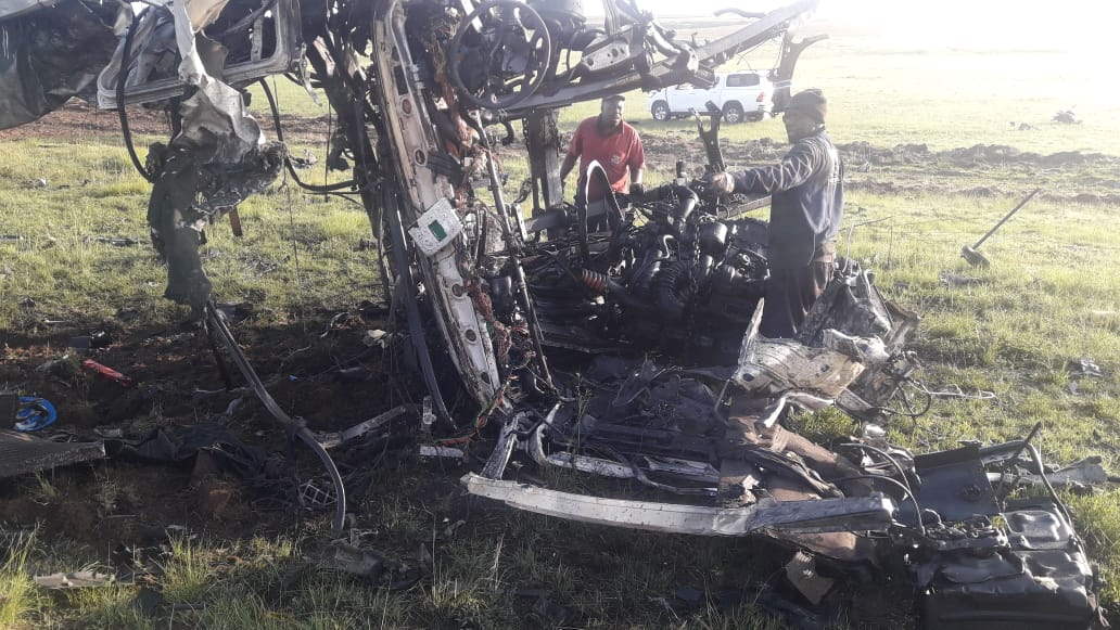 Driver in R50 truck explosion hailed a hero for warning other motorists