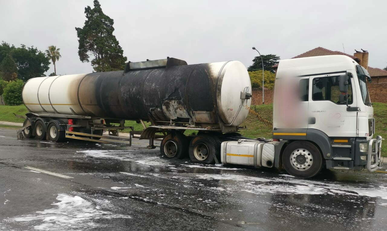 tanker that caught fire on n3