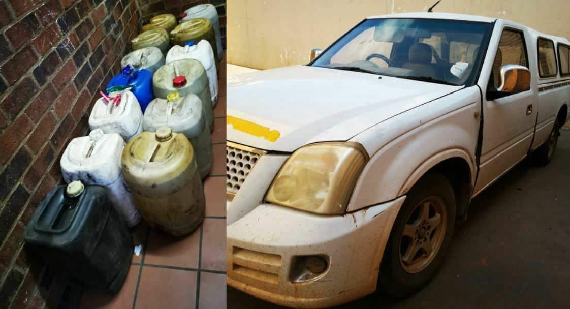 Two men arrested for possession of suspected stolen diesel in Kuruman