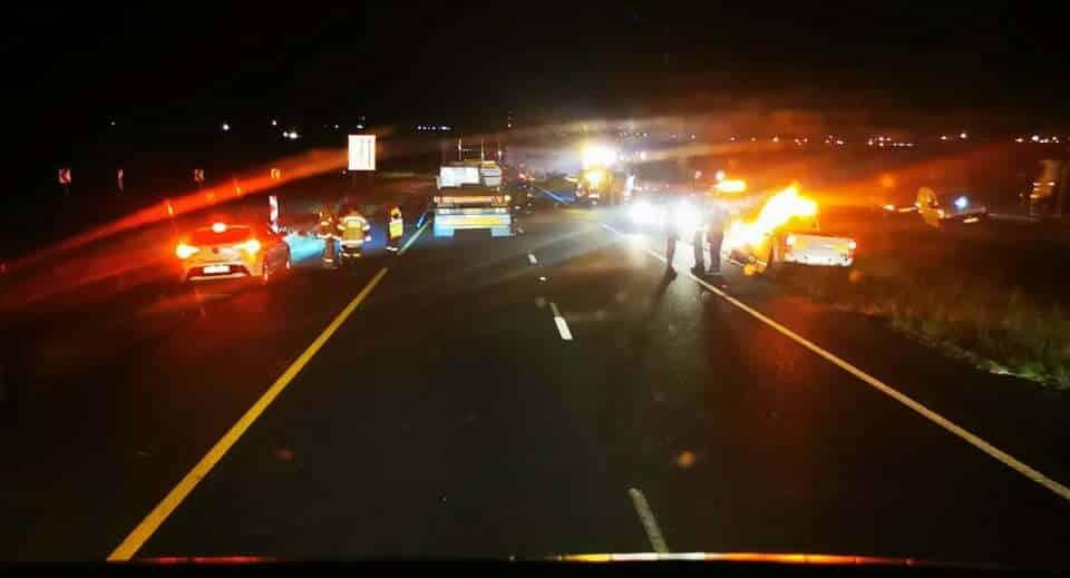 Watch: Trucker's frantic call for help under fire from gunmen on N12 in Gauteng