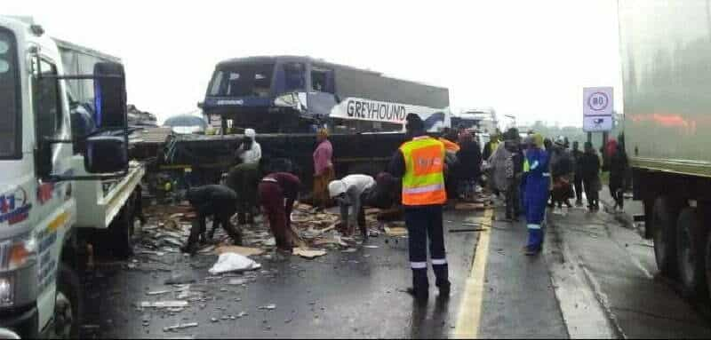 Truck driver locked up for Van Reenens Pass crash that killed bus driver