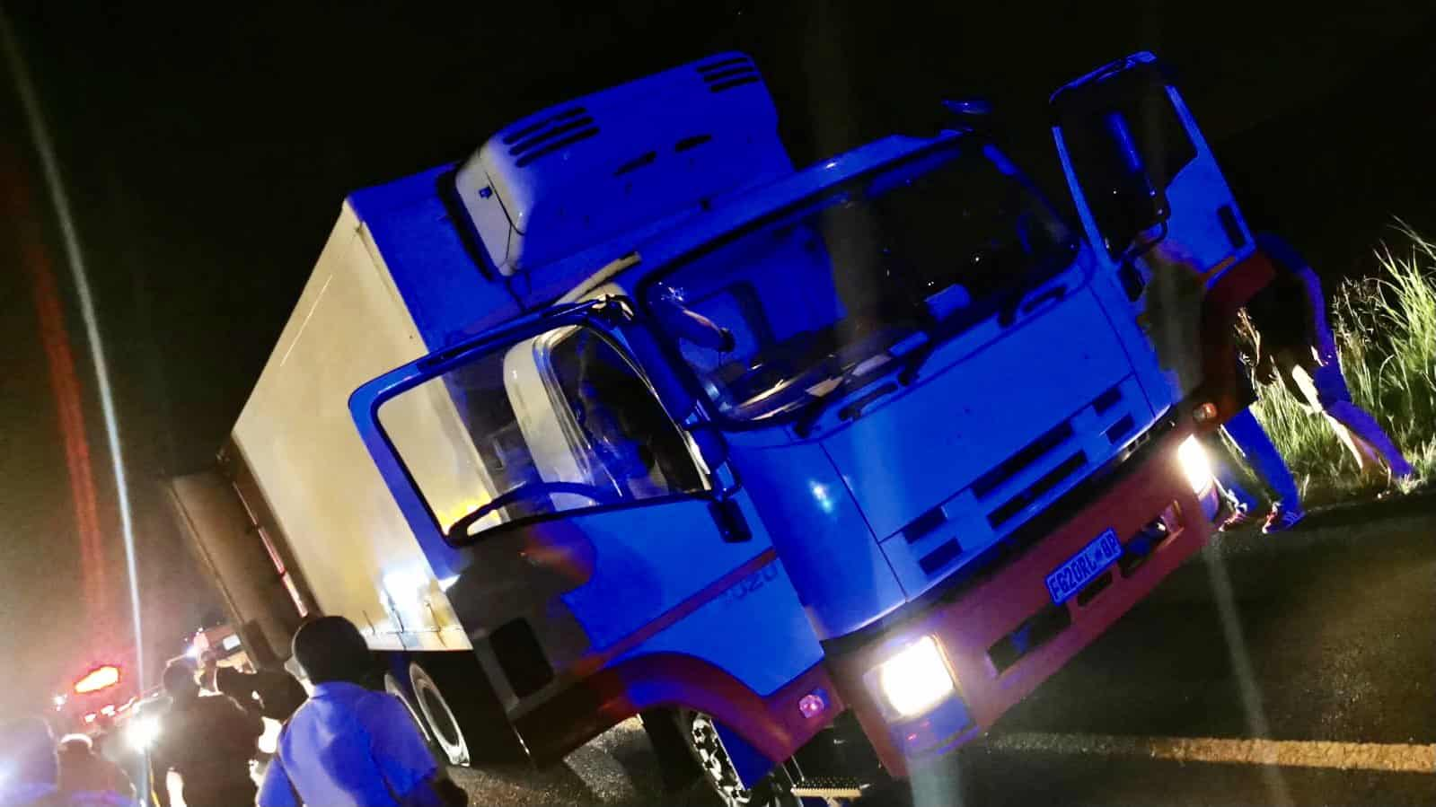 Watch | Truck hijacker drives on wrong side of N12 freeway in bid to escape police
