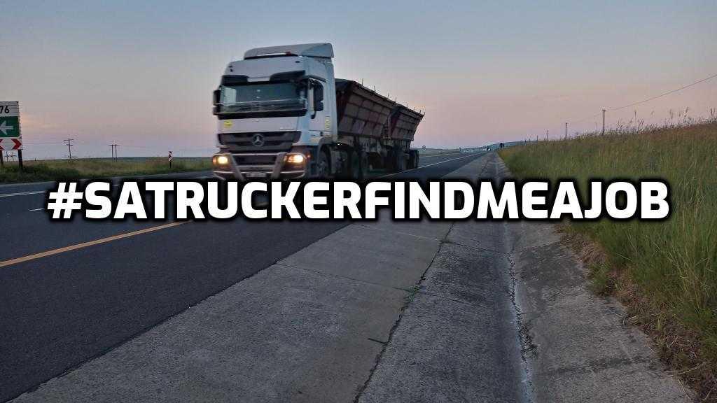 SA Trucker find me a job