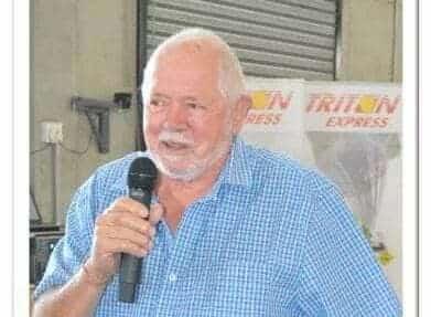 Triton Express founder, Mervin Corbishley dies