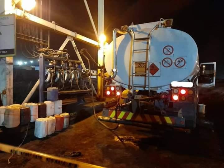 Clenco mine diesel theft