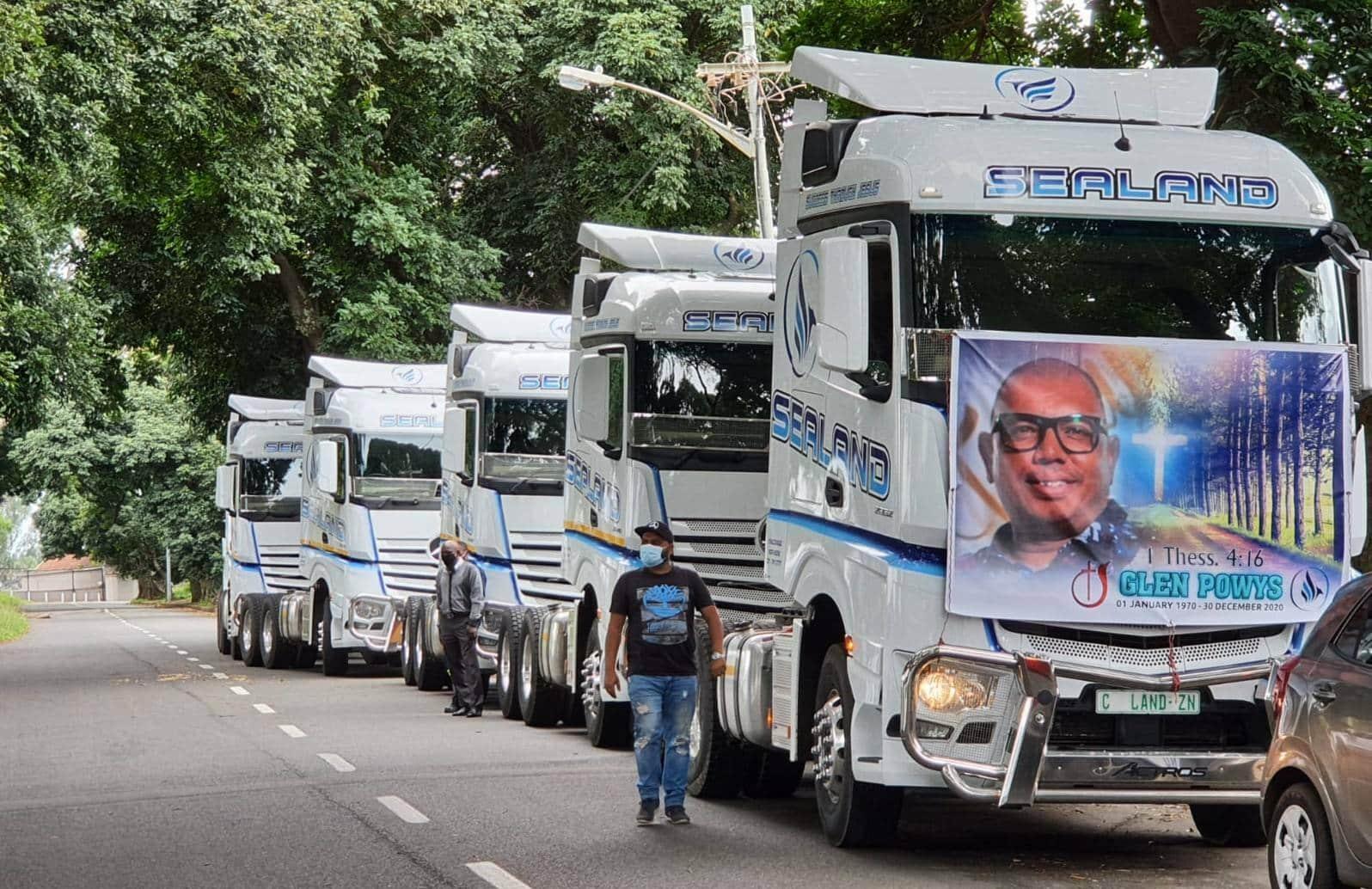 Sealand Transport bids farewell to Glen Powys