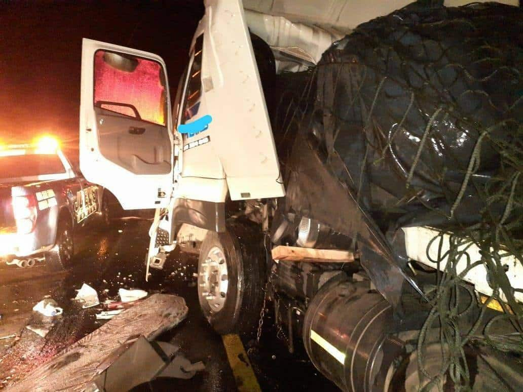 Starwheels truck accident on N3