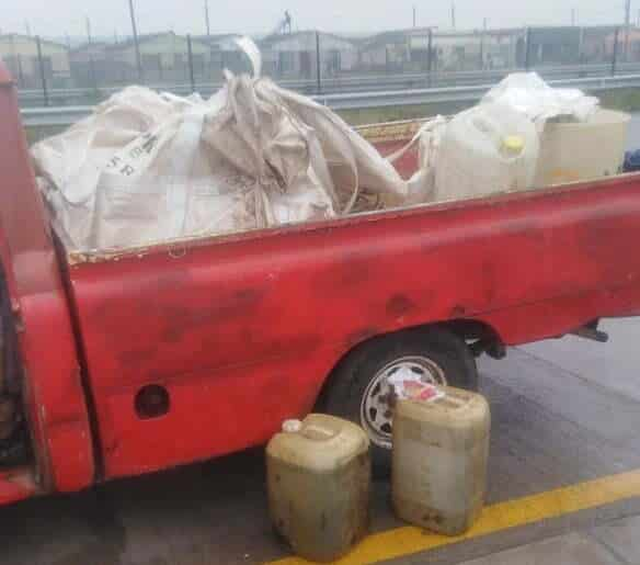 Truck driver, two others nabbed for diesel theft in PE