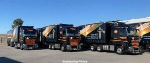 Intercape Freightliner fleet of 11 Mercedes Benz New Actros