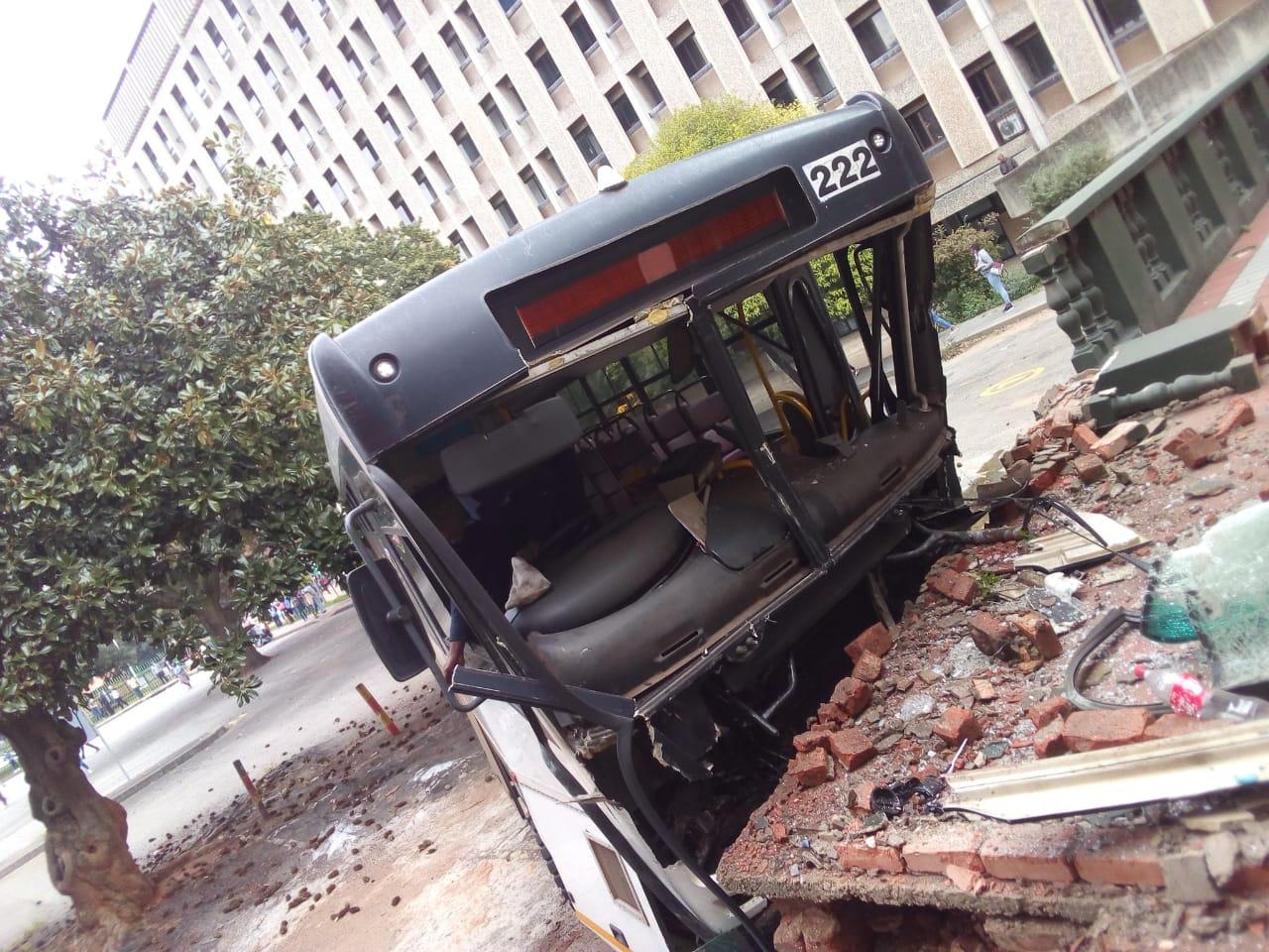 Boksburg Civic Center bus accident