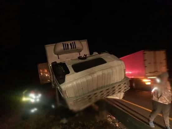Truck/trailer surfer killed