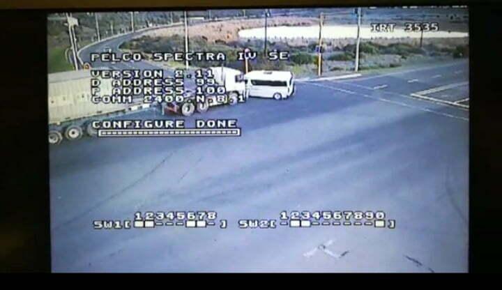 Melkbosstrand accident cctv video