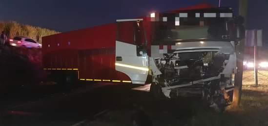 Shongweni truck suv crash