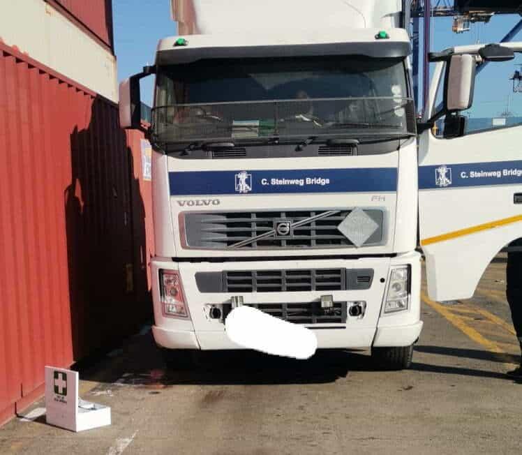 Truck driver found dead in his truck