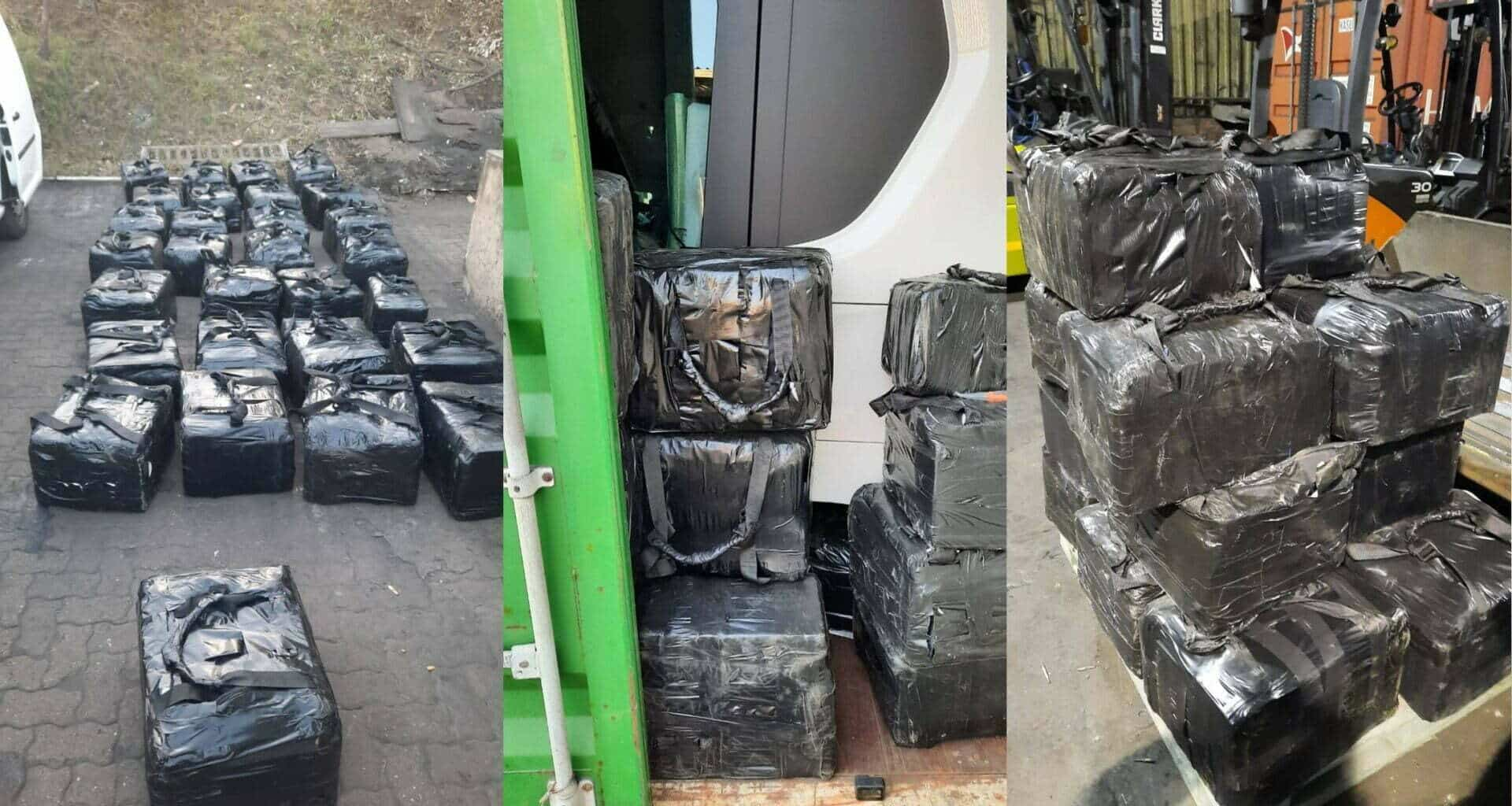 drug bust scania sa container