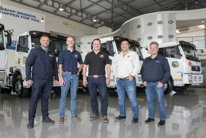 Faw trucks and BHL prove to be a winning team in tough African operating conditions