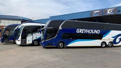 Greyhound buses, trailers and various spares go on auction