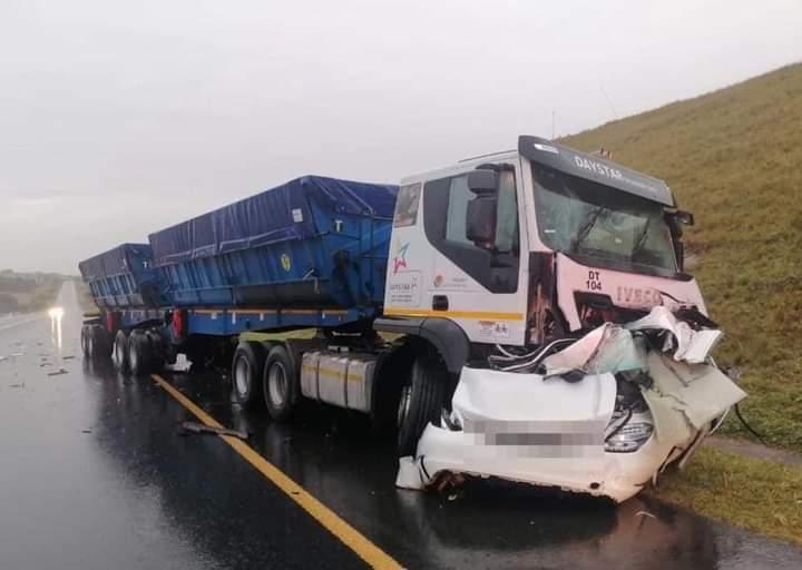 Truck crash mandeni