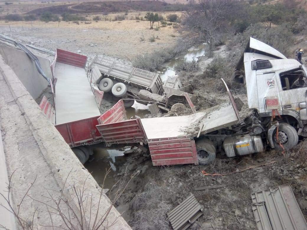 Army truck collision harrismith