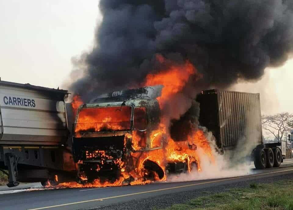 Van reenen truck accident