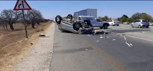 Six killed after car crashes into truck
